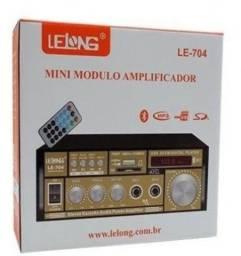 Título do anúncio: Amplificador de som Lelong Le-704 - Imperium Informática