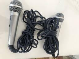 Dois Microfones G DVDokê