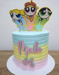 Topa de bolo personalizado