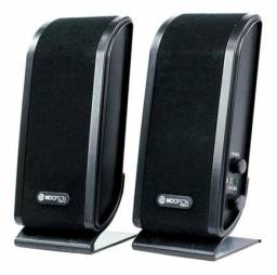 Caixa de Som Estéreo Preta CX-PC012 - Hoopson