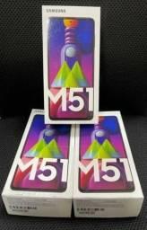Lançamento Galaxy M51 Preto Zero Lacrado com Nota Fiscal e Garantia de 1 ano