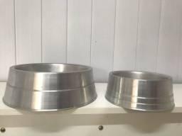 Vasilha de alumínio para cães