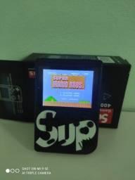 vídeo game sup game box 400 jogos