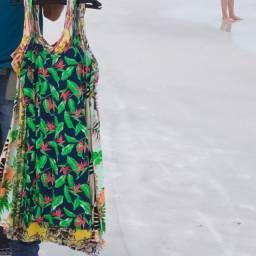 Vestido floral feminino