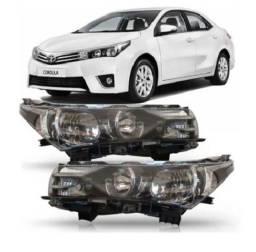 Farol Toyota Corolla 2015 A 16 Original Usado Ld DIR