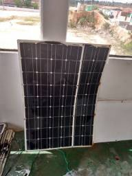 Placa solar flexivel 100w dokio