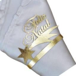 Título do anúncio: Porta Guardanapo em corino Feliz Natal