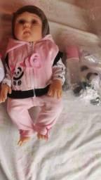 Bonecas lindas tipo reborn!!