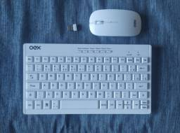 Teclado e mouse OEX sem fio