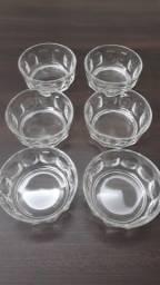 Título do anúncio: Cjto Para Sobremesa Em Vidro 6 Peças + 3 de Brinde Vintage