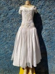 vestido noiva bordado alcinha
