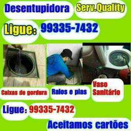 Título do anúncio: Promoção em desentupimento de Vasos sanitário e Cx de gordura aproveite