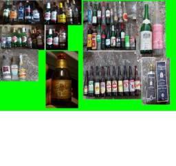 Título do anúncio: garrafa vidro colecionador