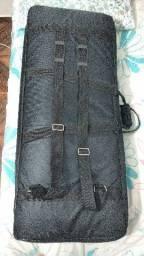 Capa/Bag para teclado 5 oitavas com bolso auxiliar