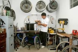 Conserto cadeiras de rodas