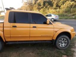 L200 esporte amarela 2005 contato 999578431 - 2005