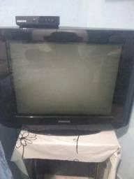 Televisão com conversor