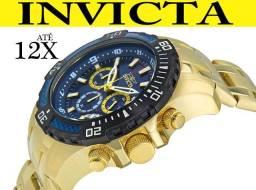 00cc2629e77 Relógio Invicta 24856 Ouro 18K 100% Original em 12X O melhor preço e  atendimento!