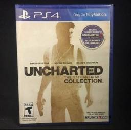 Jogo uncharted Drake collection ps4