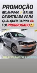 Vw/GOL 1.0 TREND 2015 COM R$1MIL DE ENTRADA NA SHOWROOM AUTOMÓVEIS