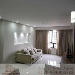 Apartamento 4 quartos com 2 suítes, 117m² na Pituba