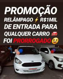 Showroom TOP FÁCIL! R$1MIL DE ENTRADA(FORD KA SE 1.0 2015)