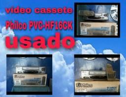 Vídeo cassete usado da Philco pvc-hf16ck