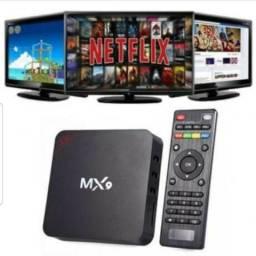 Tv Box Mx9 4K Transforme sua Tv em Smart Tv