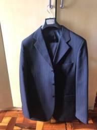 Terno TNG risca de giz top blazer 50 calça 52 de barbada