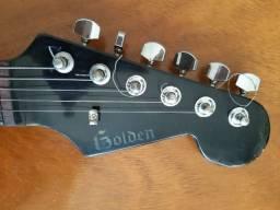 Santo graal golden anos 80 90 strato guitarra vintage v6 sx shelter fst62 635 dolphin, usado comprar usado  Santo André