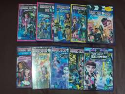 Dvds Monster High + Brindes