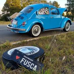 Excelente Fusca 1975 azul Firenze