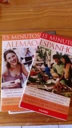 Livro + CD espanhol e Alemão tel 51 33301052
