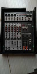 Mesa De Som 8 Canais Soundcraft Sx 802fx Selenium