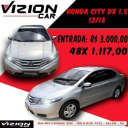 City DX 1.5 MT 12/13(Apenas 40.000km)(Entr. R$ 3.000,00) - 2013