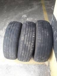 3 pneus aro 14