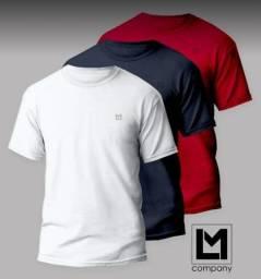 Camisas 100% algodão penteada 30.1