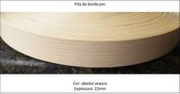 Fita d borda pvc para acabamentos-c/100mt-cor: abedul arauco-tom d cor proxim d bege/areia