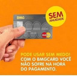 # CARTÃO DE CRÉDITO + CARTÃO DE CRÉDITO BMG