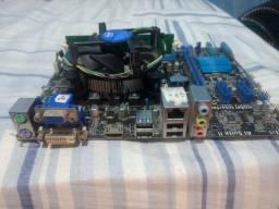 Placa mãe Asus com I3+4GB de RAM DDR3