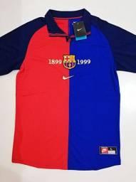 Camisa Barcelona Centenário Nike - Tamanho: G