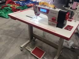 Maquina de costura eletrônica industrial