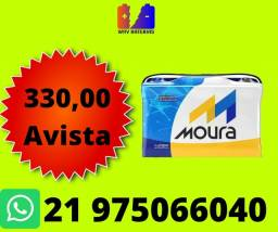 Título do anúncio: Bateria moura 60ah sandero voyage gol Ford ka