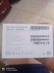 Título do anúncio: Celular Xiaomi Note 9 4gb ram e 128 GB de memória