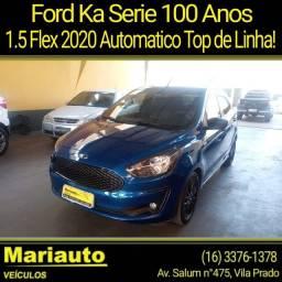 Título do anúncio: KA 1.5 SERIE 100 ANOS AUTOMÁTICO TOP DE LINHA