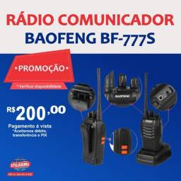 Título do anúncio: Rádio comunicador Baofeng BF-777S