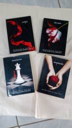 Coleção Livros Saga Crepúsculo
