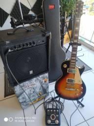 Kit Guitarra+Cubo e Pedaleira