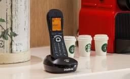 Título do anúncio: Telefone sem fio Intelbras TS 8220 preto