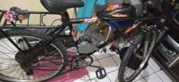 Bicicleta elétrica.